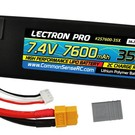 7.4V 7600mAh 35C Lipo Battery with XT60 Connector