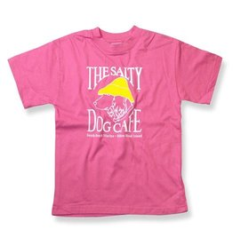 Apparel Hanes Beefy Youth Short Sleeve in Pink