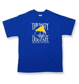Hanes Hanes Beefy Youth Short Sleeve in Deep Royal
