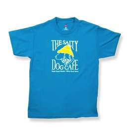 Apparel Hanes Beefy Youth Short Sleeve in Teal