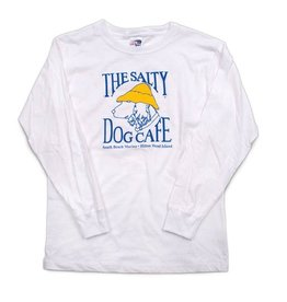 T-Shirt Youth Long Sleeve in White