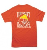 T-Shirt Hanes Beefy Short Sleeve in Orange