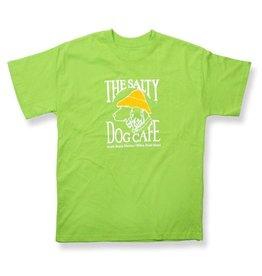 Apparel Hanes Beefy Youth Short Sleeve in Lime