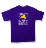 Apparel Hanes Beefy Youth Short Sleeve in Purple
