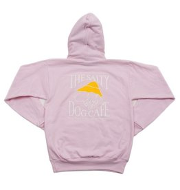 Sweatshirt Hanes Hooded Sweatshirt in Pale Pink