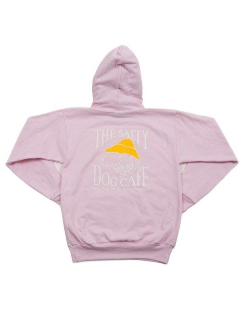 Sweatshirt Hanes Hooded Sweatshirt in Pale Pink