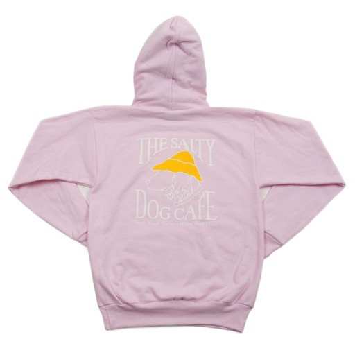 Hanes Hanes Hooded Sweatshirt in Pale Pink