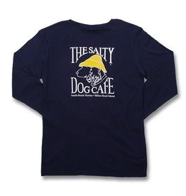 T-Shirt Women's Gildan Long Sleeve Tee in Navy