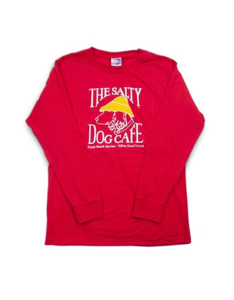 LAT Apparel Youth Long Sleeve in Red