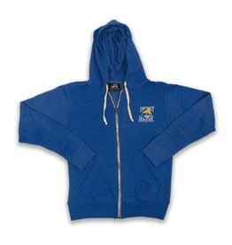 Full-zip Hooded Sweatshirt in Royal