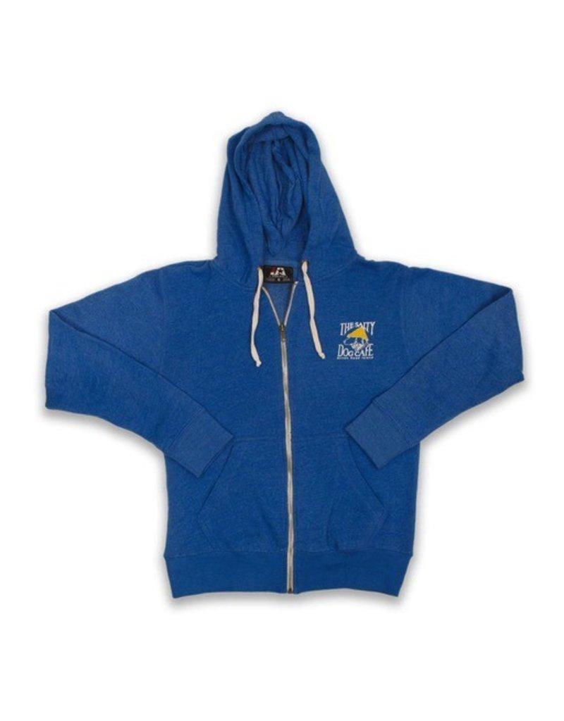 JAmerica Full-zip Hooded Sweatshirt in Royal