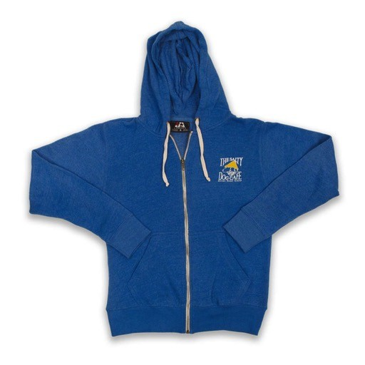 JAmerica Full-zip Hooded Sweatshirt in Royal