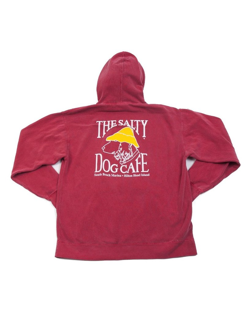 Comfort Colors Comfort Colors® Hooded Sweatshirt in Crimson