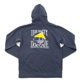 Sweatshirt Comfort Colors® Hooded Sweatshirt in Navy