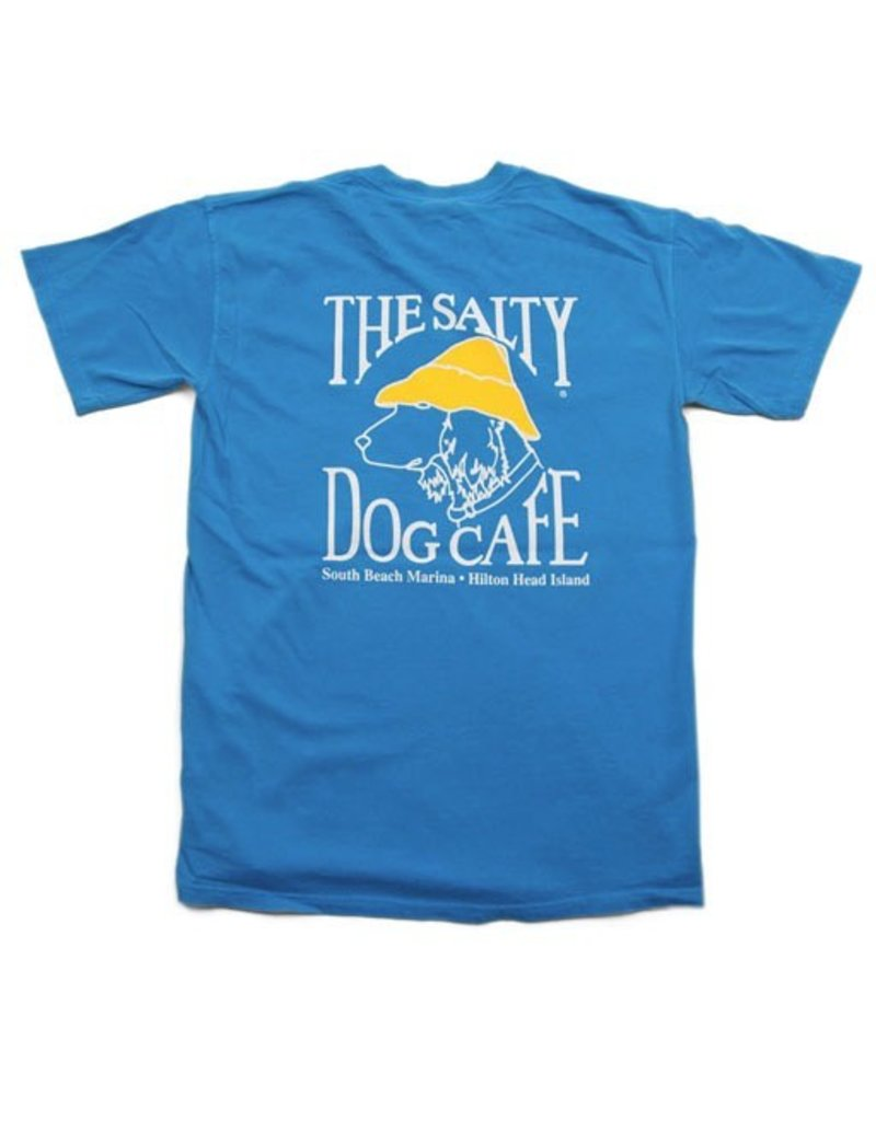 T-Shirt Comfort Colors Short Sleeve in Royal Caribe