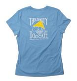 T-Shirt Women's Classic Fit in Aquatic Blue