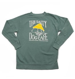 Sweatshirt Comfort Colors® Sweatshirt in Light Green
