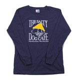T-Shirt Youth Long Sleeve in Navy