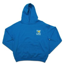Sweatshirt Youth Hooded Pullover in Turquoise