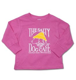 Infant / Toddler Toddler long Sleeve Tee in Raspberry