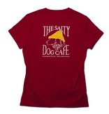 T-Shirt Women's Classic Fit in Deep Red