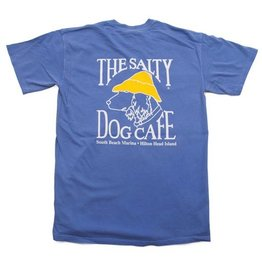 T-Shirt Comfort Colors Short Sleeve in Flo Blue