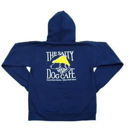 Sweatshirt Hanes Hooded Sweatshirt in Navy