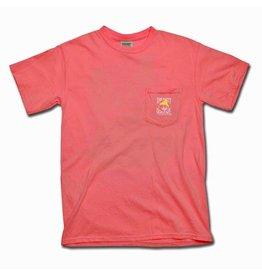 Apparel Comfort Colors® Short Sleeve Pocket Tee in Watermelon