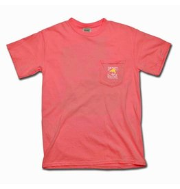 Comfort Colors Comfort Colors® Short Sleeve Pocket Tee in Watermelon