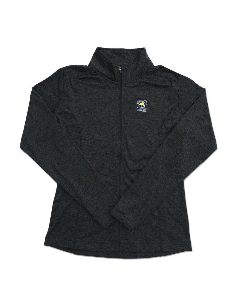 Outerwear Women's Full-Zip Jacket in Charcoal