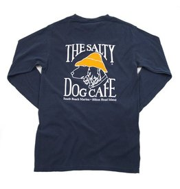 Apparel Long Sleeve Comfort Soft in Navy
