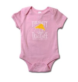 LAT Apparel Infant Romper in Light Pink
