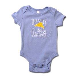 Infant Romper in Light Blue