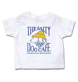 Infant / Toddler Toddler Short Sleeve Tee in White