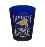 Salty Dog Blue Shot Glass