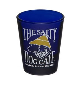 Salty Dog Blue Shot Glass