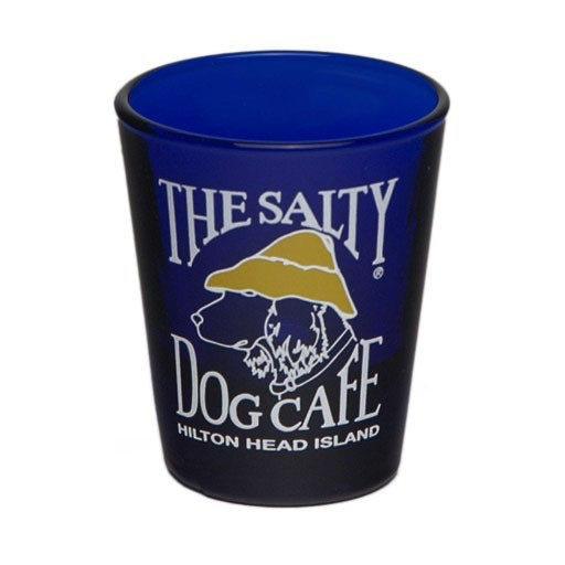 Salty Dog Shot Glass Blue
