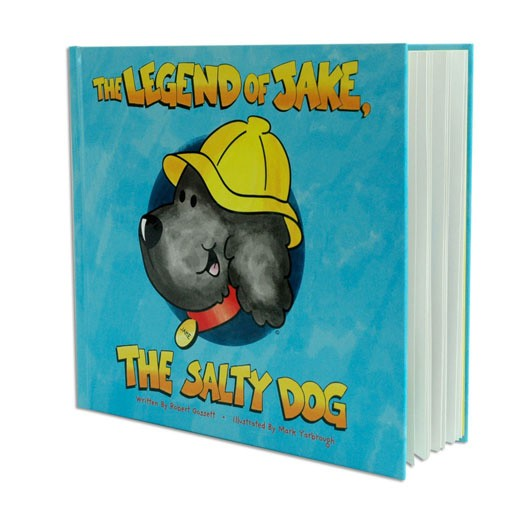 Salty Dog Legend of Jake, The Storybook - Story Book