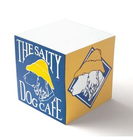 Salty Dog Note Pad - Cube