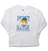 Hanes Youth Snow Dog Long Sleeve Tee