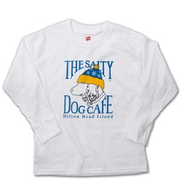 T-Shirt Youth Snow Dog Long Sleeve Tee