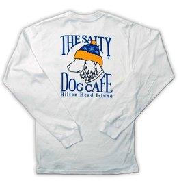 Hanes Snow Dog Adult Long Sleeve Tee