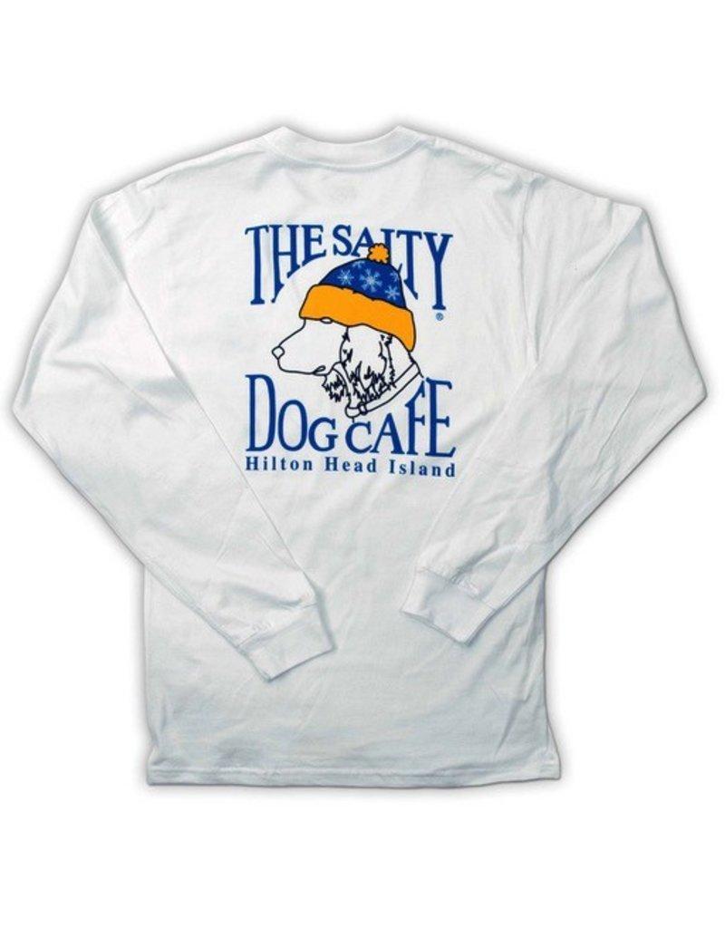 T-Shirt Snow Dog Adult Long Sleeve Tee