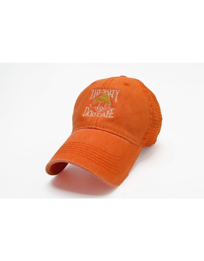 Hat Dashboard Trucker Hat in Orange