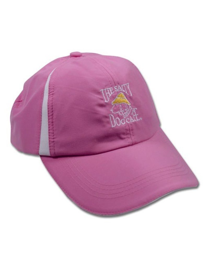 Hat Women's Micro Hat in White/Hot Pink