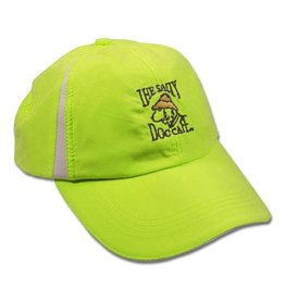 Hat Women's Micro Hat in White/Neon Yellow