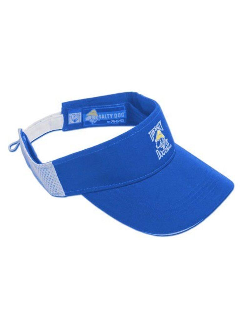 Hat Cool Max Visor in Cobalt