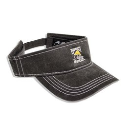 Hat Pigment Dyed Visor in Charcoal