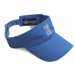 Hat Pigment Dyed Visor in Royal
