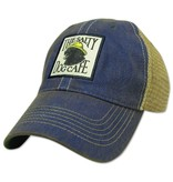 Hat Old Favorite Trucker Vintage Jake Hat in Blue